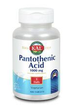 Pantothenic Acid 1000mg Sustained Release Kal 100 Tabs