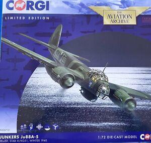 Corgi 1/72 AA36712 Junkers Ju88A-5 Winter 1940