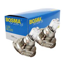 2x Lámpara BOSMA P26S 6v 15w S3 halógena PREMIUM Bombilla para FARO etc