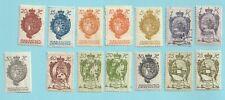 Lot LIECHTENSTEIN  (14 timbres)