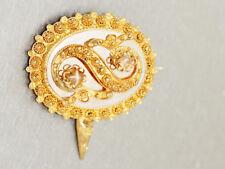 Brosche Gold 585 - Goldbrosche - 14 kt Gold - Feingoldfarbe