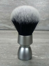 Yaqi Heavy Metal Handle Synthetic Hair Tuxedo Knot Shave Brush M150801-S1