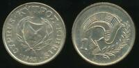 Cyprus, Republic, 1983, 1 Cent - Uncirculated