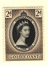 GOLD COAST 1953 CORONATION MNH
