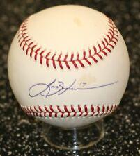Lance Berkman Signed Official MLB Baseball PSA/DNA Rangers