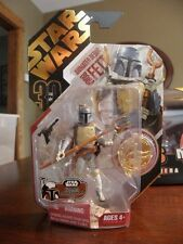 STAR WARS 2007 ULTIMATE GALACTIC HUNT ANIMATED BOBA FETT FIGURE W/ GOLD COIN
