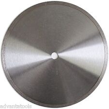 """10"""" Standard Wet Dry Cutting Continuous Rim Tile Diamond Saw Blade"""