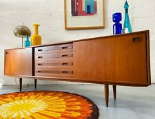 More details for vintage mid century sideboard by clausen & son of silkeborg, denmark