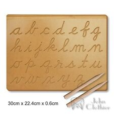 Alphabet Wooden Board Tracing A-Z Kids Writing skills Preschool Educational toys