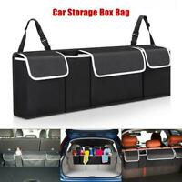 Car Boot Organiser Large Storage Bag Pocket Back Seat Hanger Tidy Travel Hanging