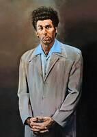 "Seinfeld The Kramer Painting XL CANVAS PRINT poster 24""X 36"""