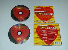 2cds Modern Love songs Bangles, scorpions, Boyzone u.a 30. tracks 1999 04/16