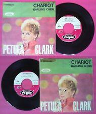 LP 45 7'' PETULA CLARK Chariot Darling cheri 1962 italy JOLLY no cd mc dvd