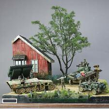 Hobby Crafts Puzzle Bausätze Holz Europäische Ruinen Haus 1/35 Gebäude War
