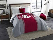 Washington State Cougars Sport Team Mascot Bedding Comforter Twin Full Size NCAA