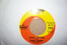 DAWS BUTLER,  DOGS BEST FRIEND,  CAPITOL RECORDS 1965  MINT-