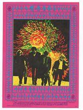 1960s Family Dog Handbill Postcard for a Rock Show  at the Avalon 9+