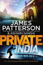 JAMES PATTERSON & ASHWIN SANGHI __ PRIVATE INDIA __ BRAND NEW 'B' __ FREEPOST UK