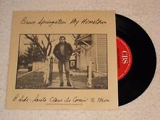 BRUCE SPRINGSTEEN MY HOME TOWN SPANISH ORIGINAL ISSUE 7""
