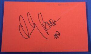 CHUCKY BROWN signed autograph auto 3x5 Lakers Spurs Cavs GSW Nets Suns=1989-2002