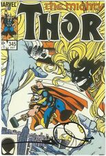 SIGNED Vintage Art of Marvel Comics Post Card ~ Mighty Thor #345 Walt Simonson
