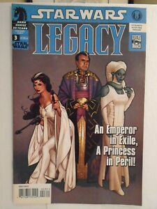 Dark Horse STAR WARS LEGACY #3 (2006) 1st Force Ghost Luke Skywalker HIGH GRADE