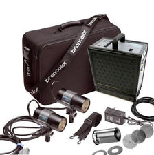 BRONCOLOR MOBIL POWER PACK, 2 MOBILITE FLASH HEADs + EXTRAS