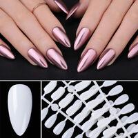 120Pcs Nagel Falsch Tipps Fake Nail Tips Clear Full Cover for Nagel Kunst Design