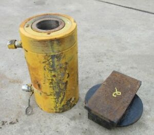 """Enerpac RR-1506 Double Acting 150 Ton 6"""" Stroke Hydraulic Cylinder #2 Free Ship"""
