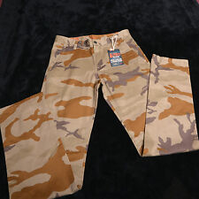 """NWT NEW DOCKERS ALPH(a) COLLECTION Mens Camo Pants Size 30""""X 32"""" Slim Tapered"""