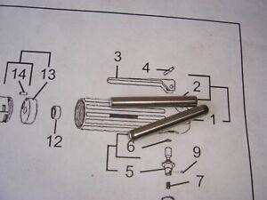 2  NOS OEM Dotco angle grinder sander air 1042 Trigger Pin Dowel 10-27 Series
