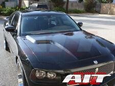 2006-2010 Dodge Charger CLG style fiberglass hood body kits