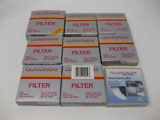 Lot of 9 Vintage Quantaray Filters V-37 ND2 MC-1A 55 49 40.5 C.S 1A 52 40.5