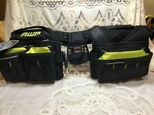 NEW AWP Suspension Ballistic Tool Rig Construction Apron Padded Tool Belt Pouch