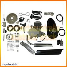 80cc 2-Stroke Motor Engine Kit Gas for Motorized Bicycle Bike NEW Silver