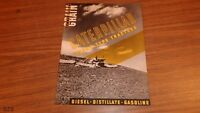 VINTAGE 1936 CATERPILLAR TRACK TYPE CATALOG BROCHURE 12