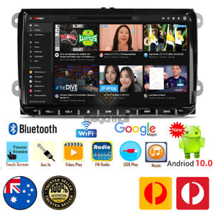 """9"""" NON-DVD Android 10.0 Car Stereo GPS Head Unit for VW Golf MK5 MK6 Caddy Jetta"""