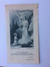 IMAGE PIEUSE ANCIENNE - HOLY CARD  SANTINI - 201