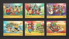 MALAYSIA 2017 LEGOLAND CHILDREN'S HOLIDAY ACTIVITIES COMP. SET OF 6 STAMPS MINT