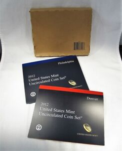 2012-P & D U.S. Mint Set Complete 28 Coins AK13