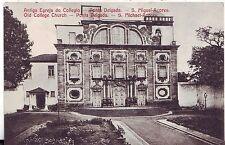 Portugal Ponta Delgada - Antigo Egreja do Collegio old postcard