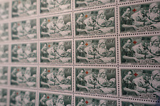 FEUILLE SHEET TIMBRE CROIX ROUGE N°459 x25 1940 NEUF ** LUXE MNH