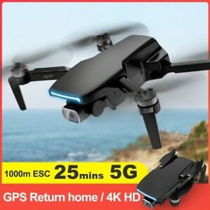 S3 GPS Drone Camera 4k HD 5G WiFi Brushless FPV Drone 25mins RC Distannce 1Km