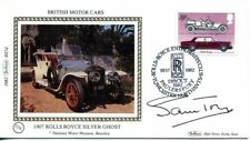 1982 British Motor Cars fdc SIGNED Sam Toy, Chair Ford Motor Company