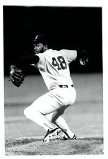 1988 Original Photo by SHAW Boston Red Sox Relief Closer Pitcher Lee Smith