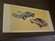 OEM Ford 1974 Pinto + Maverick Showroom Poster Display