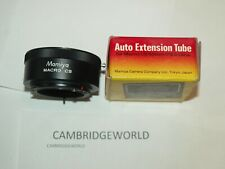 MAMIYA  MACRO CS NEW AUTO EXTENSION TUBE in ORIGINAL FACTORY BOX