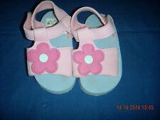 infant pink sponge flip flops size 9/.12 mths