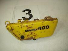 1975 DT400 400 YELLOW YAMAHA OIL TANK ORIGINAL USED WOIL-03