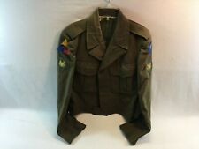 Vintage WWII Era Ike Style Waist Coat Army Jacket size 38R BB302